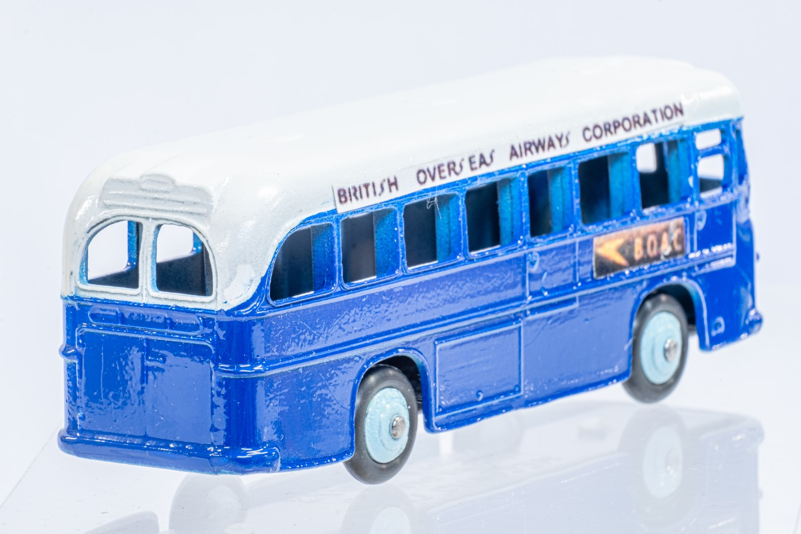 Dinky Single Decker Bus - B.O.A.C. - Code 3 & Reproduction Box - Image 6 of 7