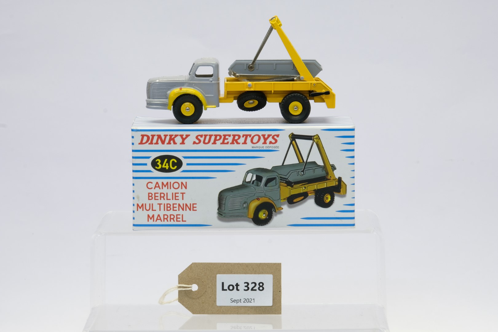 Atlas Dinky Toys Camion Berliet Multibenne Marrel