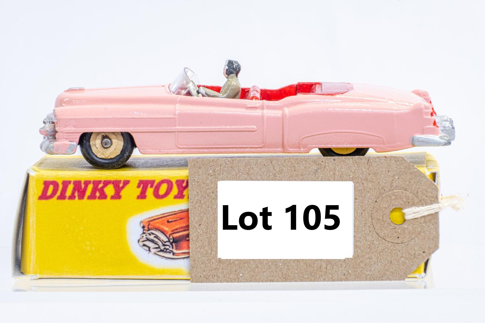 Dinky Pontiac Convertible - Code 3 & Reproduction Box