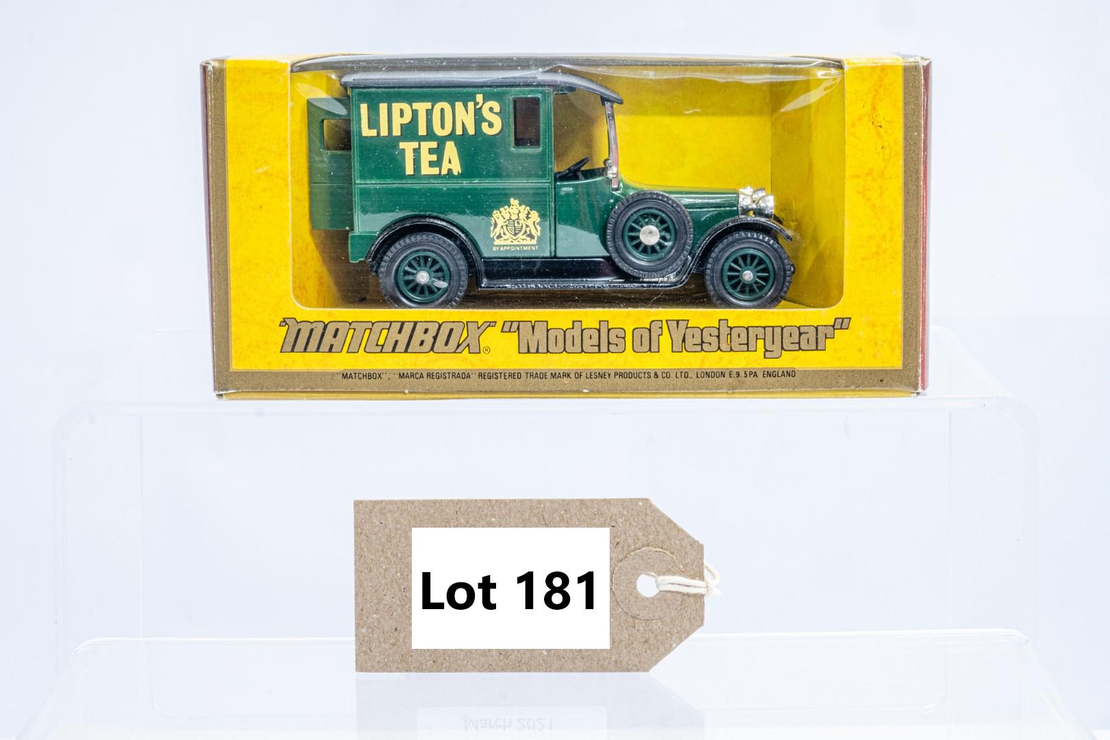 Matchbox 1927 Talbot Van Y-5 - Liptions Tea - Rare