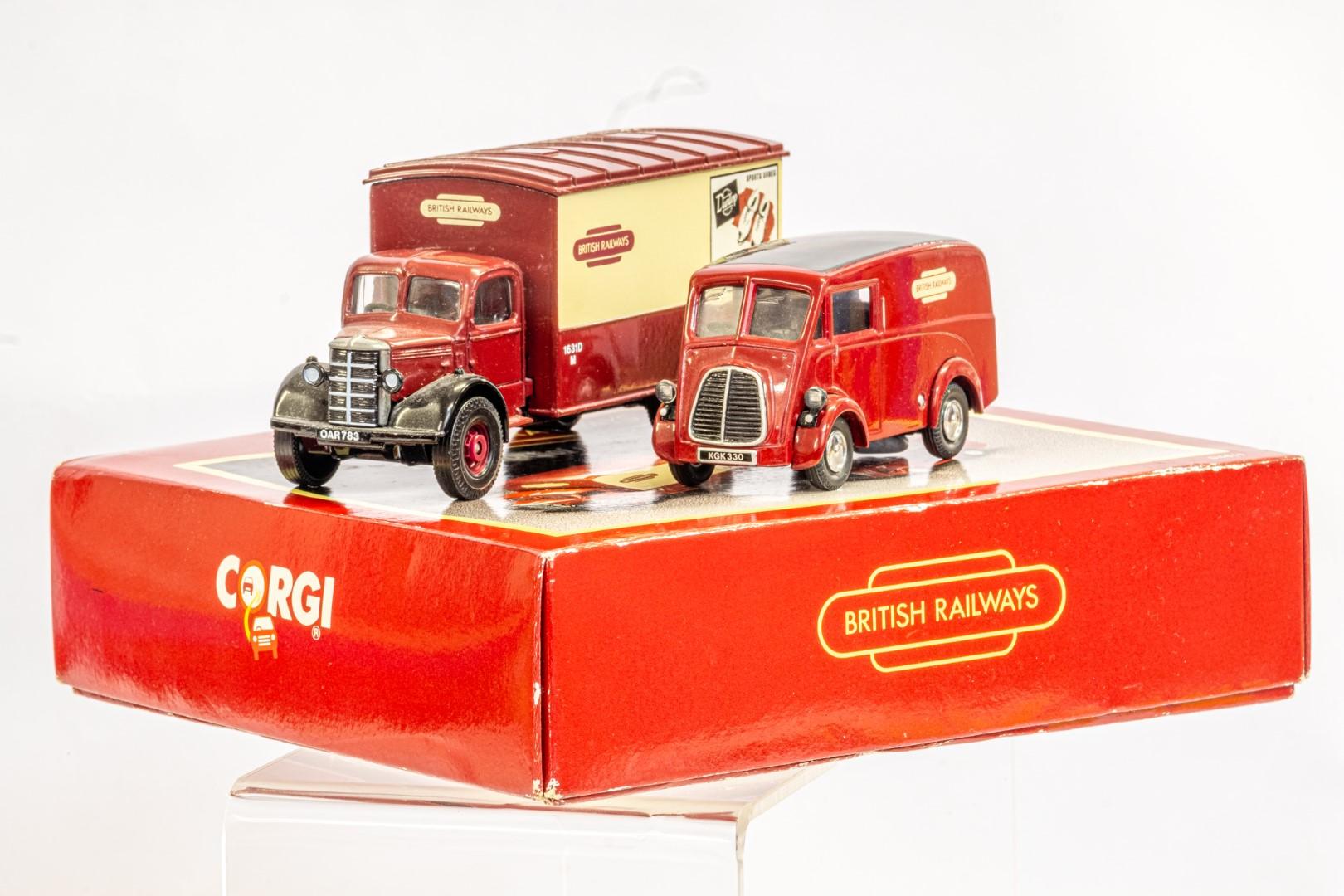 Corgi & Lledo 2 Boxed Models - Service Vans Of the 50's & 60's & Sentinel Ballast - Image 7 of 12