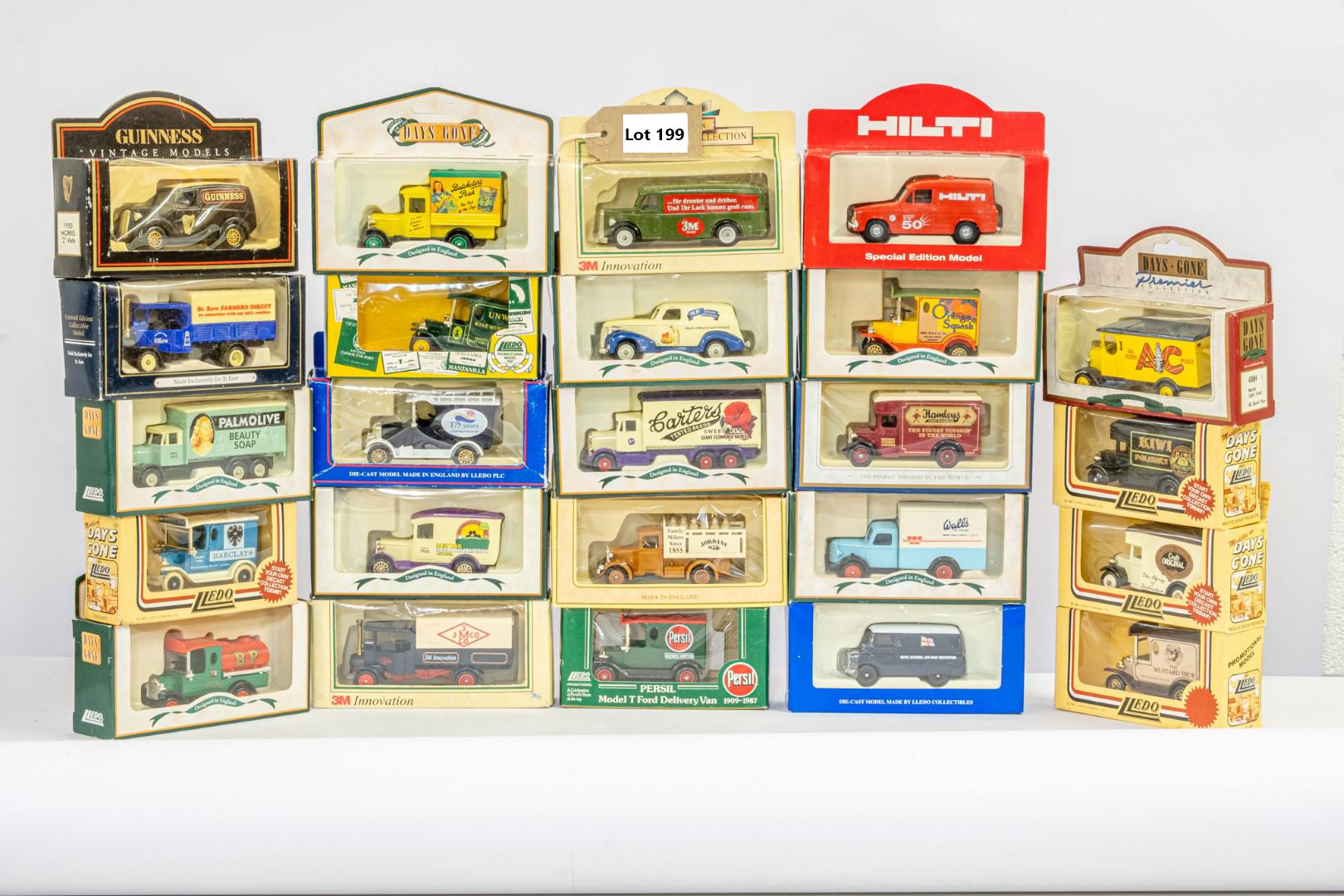 Lledo 25 x Boxed Car Models