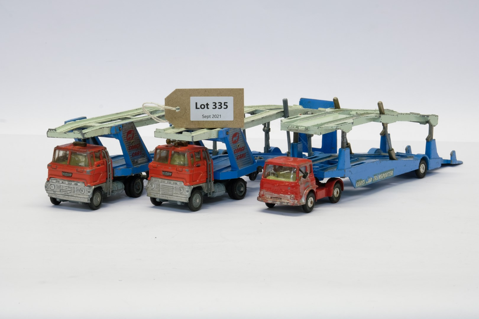 Corgi 3 x Loose Vintage Car Transporters