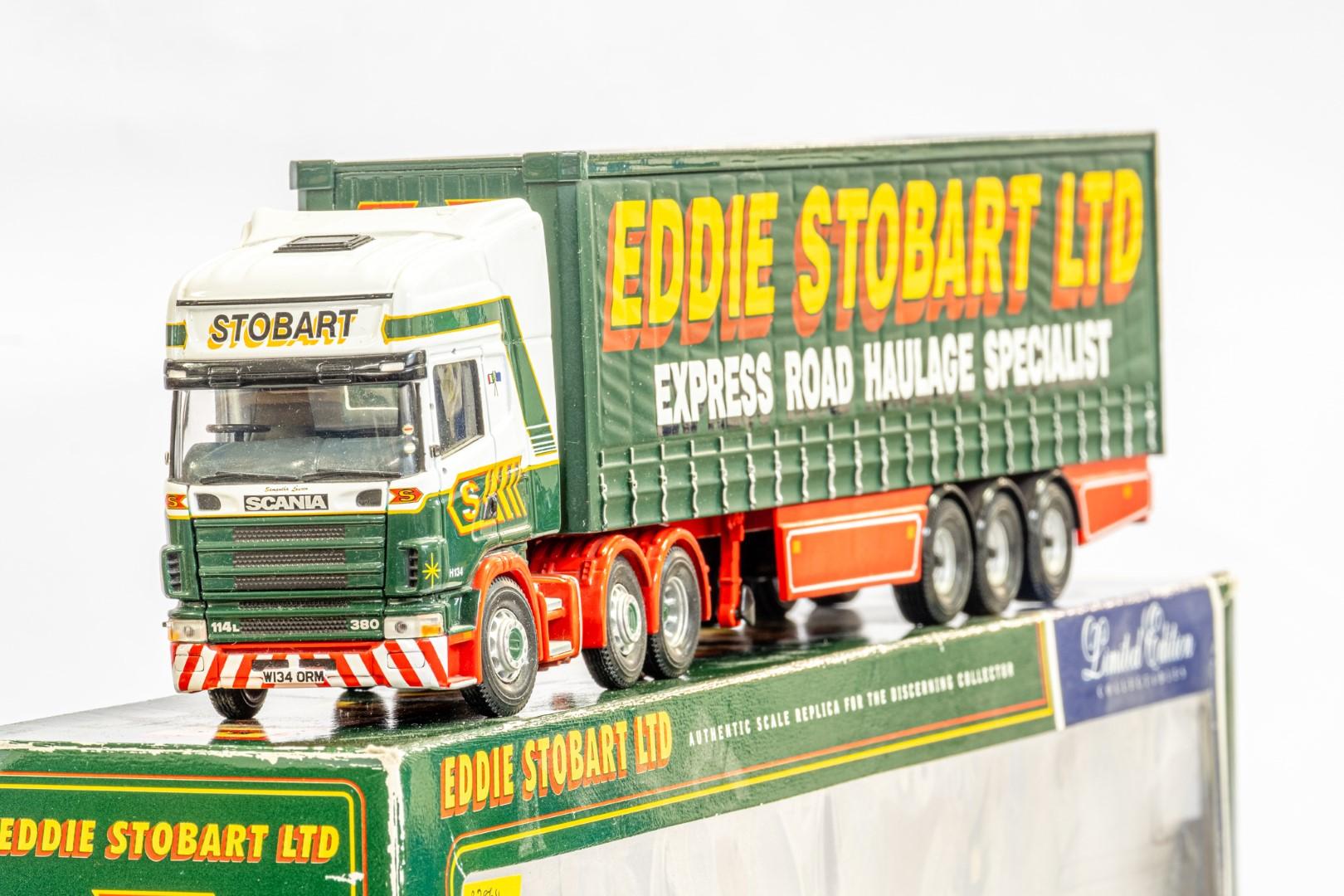 Corgi Scania Topline Curtainside Trailer - Eddie Stobart - Image 4 of 7