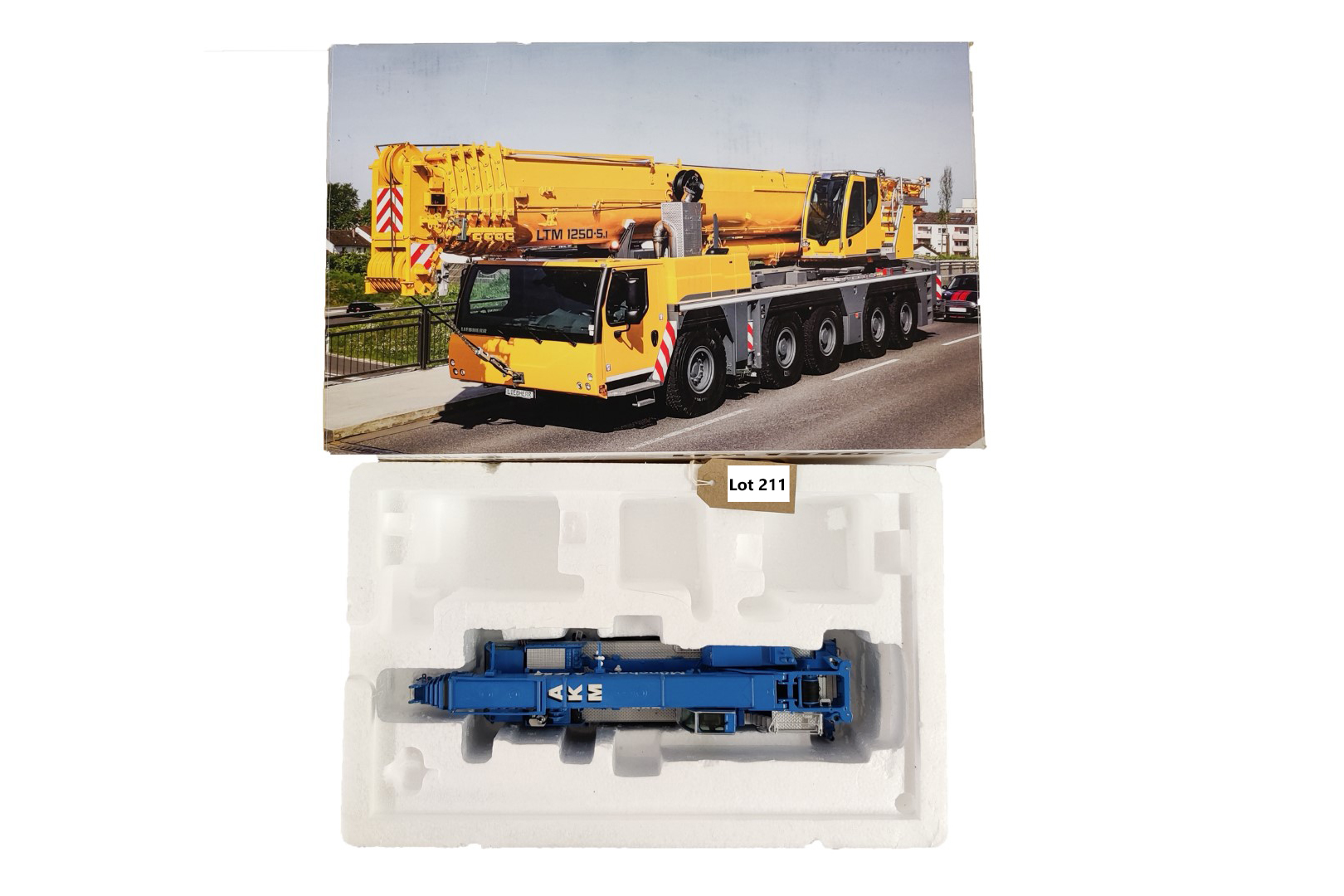 NZG Liebherr LTM1250-5.1 Mobile Crane AKM