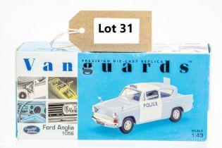 Vanguards Ford Anglia 105E - Lancashire County Constabulary - 1 Mirror in box