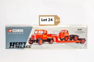 Corgi Scammell Articulated, Bedford S Type Articulated and Low Loader Set - Wynn's