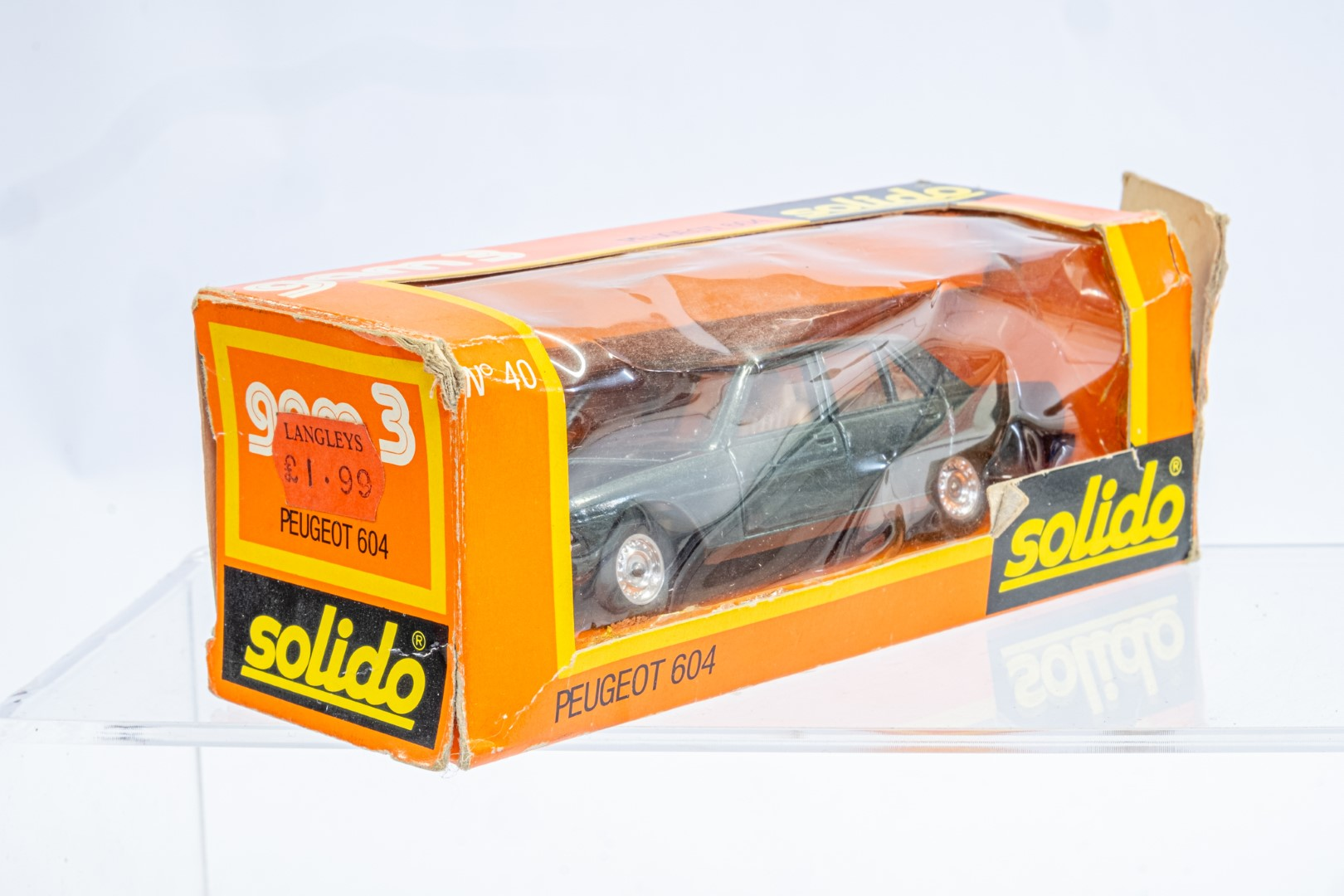 Solido 40 Peugeot 604 - Image 2 of 8