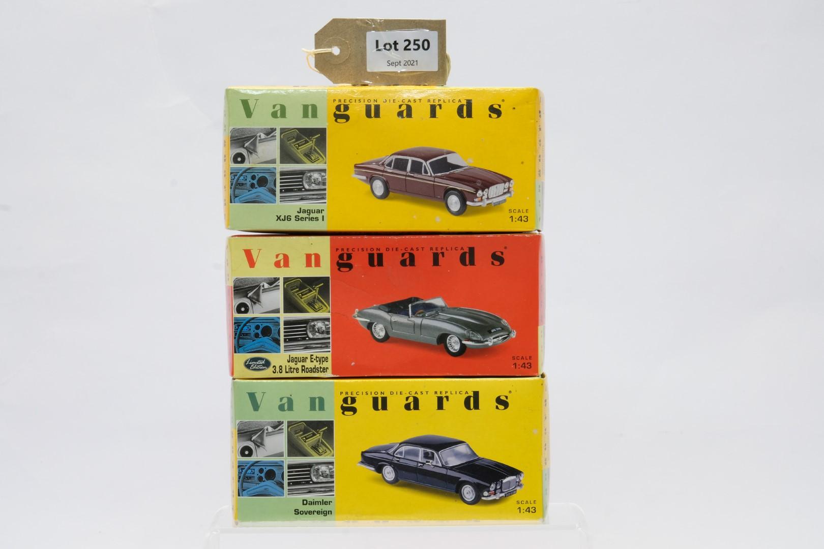 Vanguards 3 Boxed Car Models