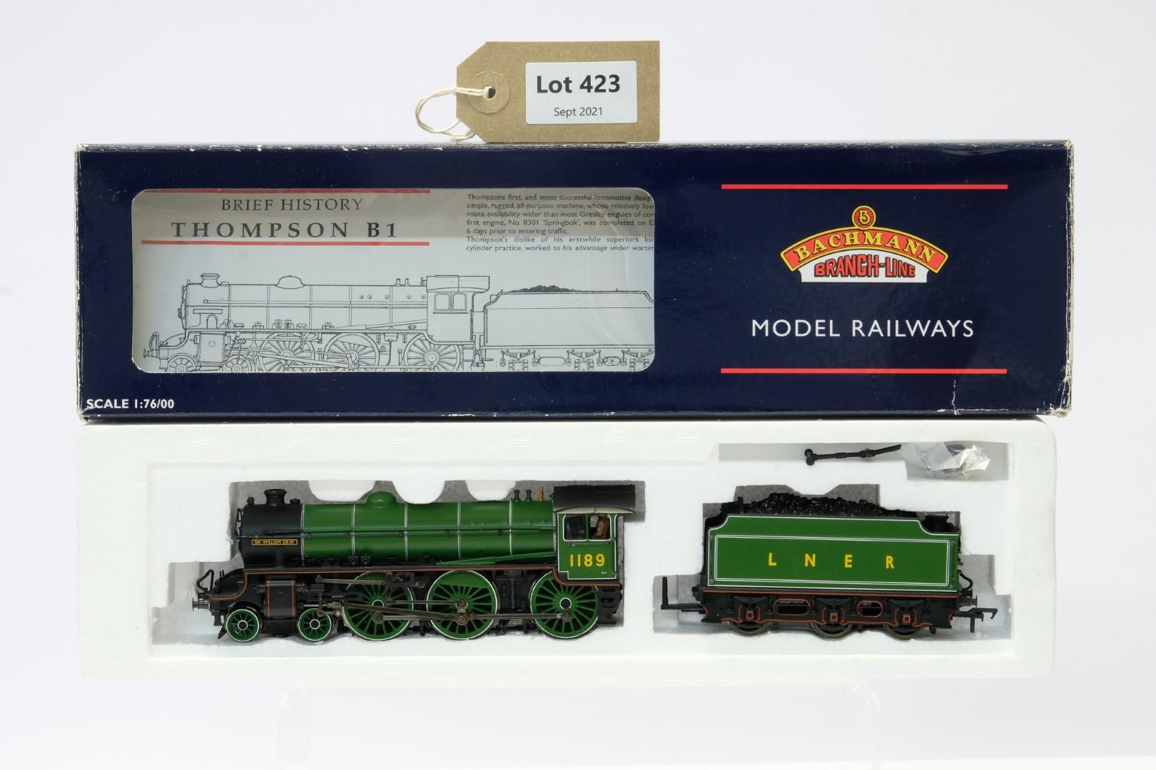 Bachmann Class B1 1189 'Sir William Gray' LNER apple green