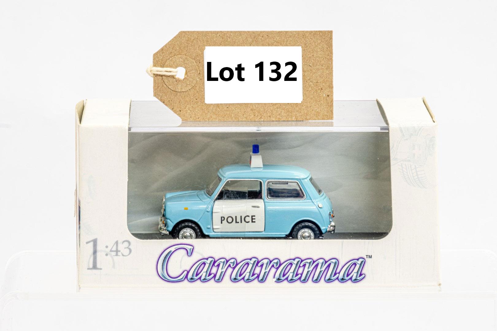 Cararama Mini Cooper - Police 1960