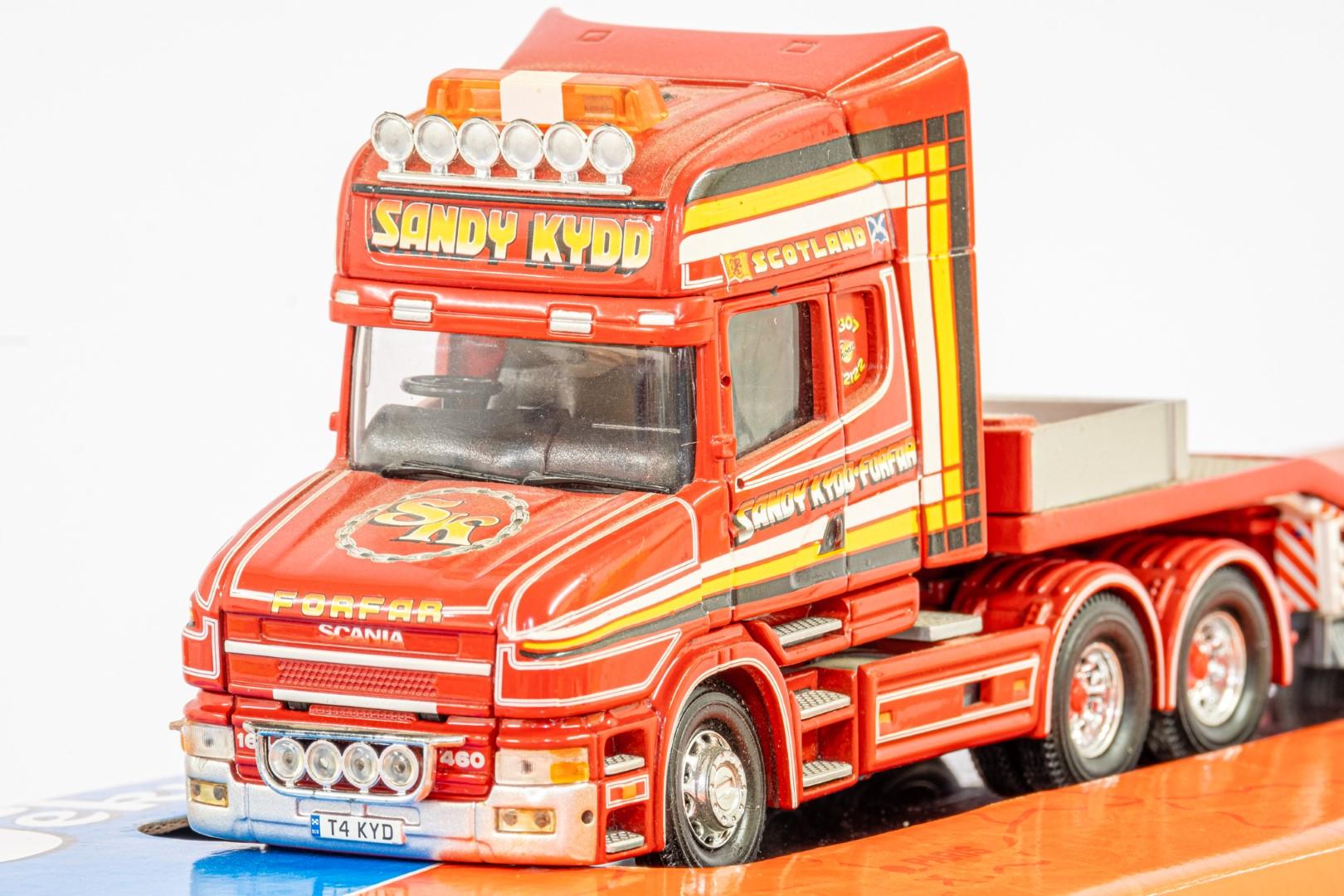 Corgi Scania 3-Series Low Loader Trailer - Sandy Kydd - In Tekno Box - Lion Toys Trailer - Image 4 of 5