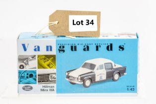 Vanguards Hillman Minx IIIA - Salford City Police