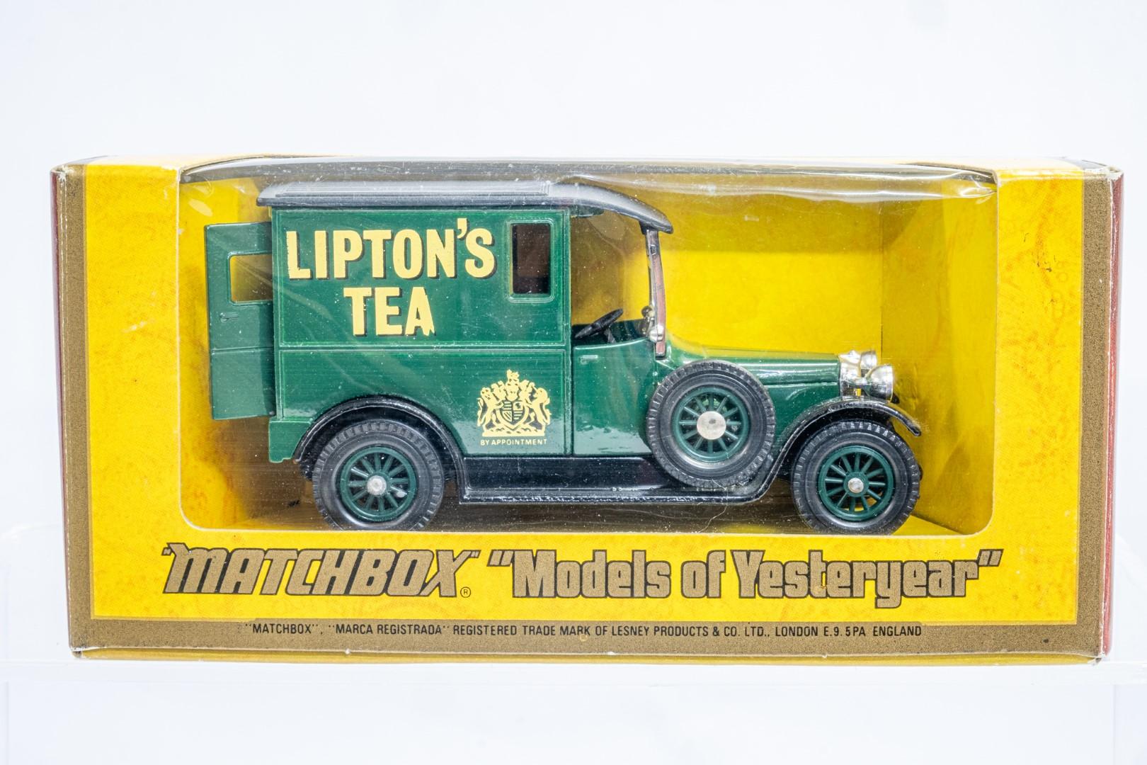 Matchbox 1927 Talbot Van Y-5 - Liptions Tea - Rare - Image 2 of 9