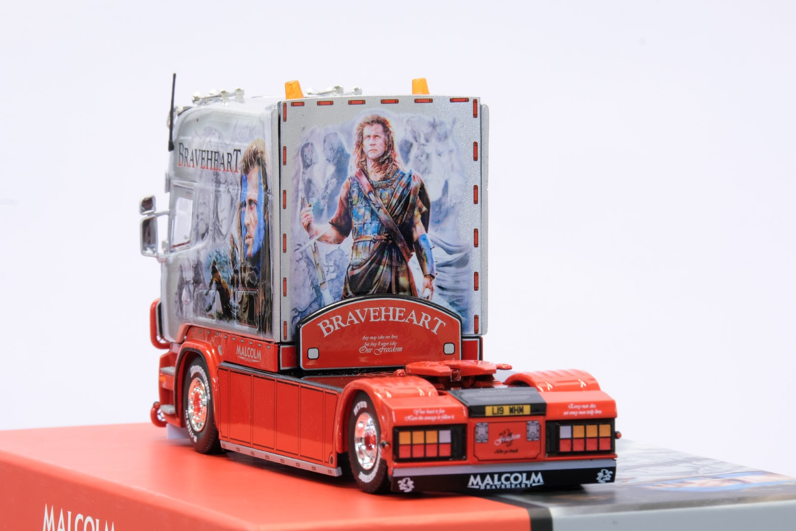 Tekno Scania R-series Longline - W.H. Malcolm Braveheart - Image 3 of 6