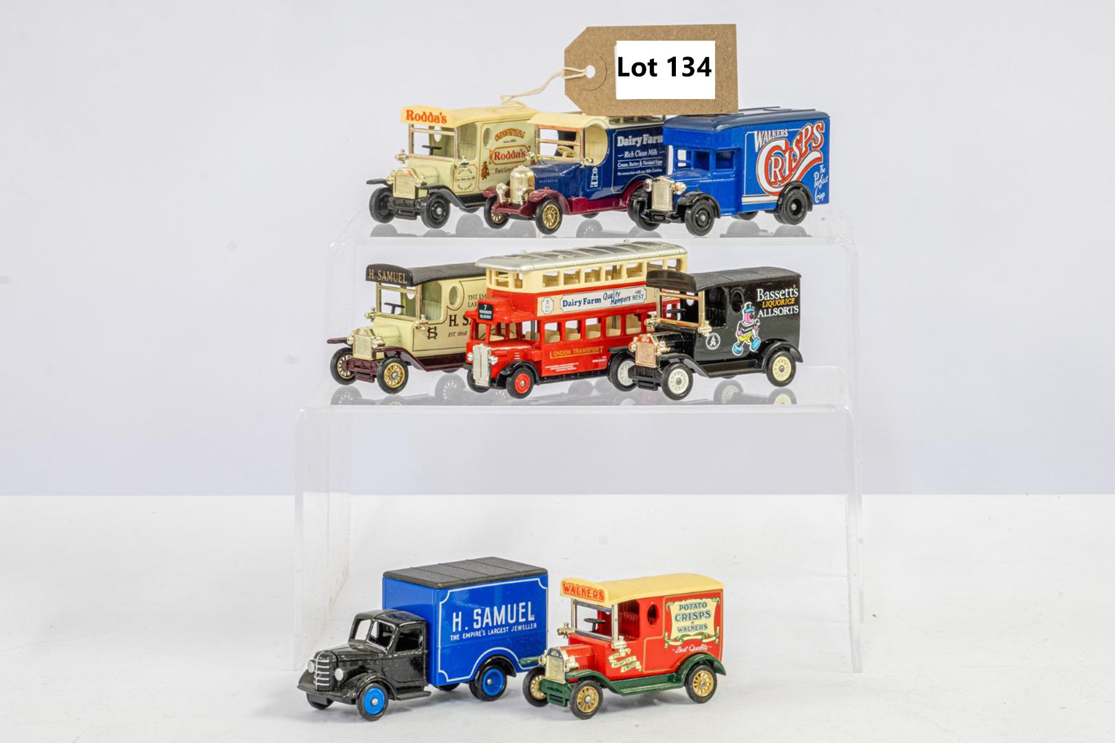 8 x Assorted Loose Models