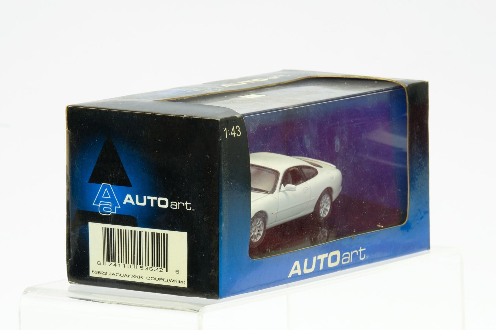 Autoart Jaguar XKR Coupe White - Image 2 of 3