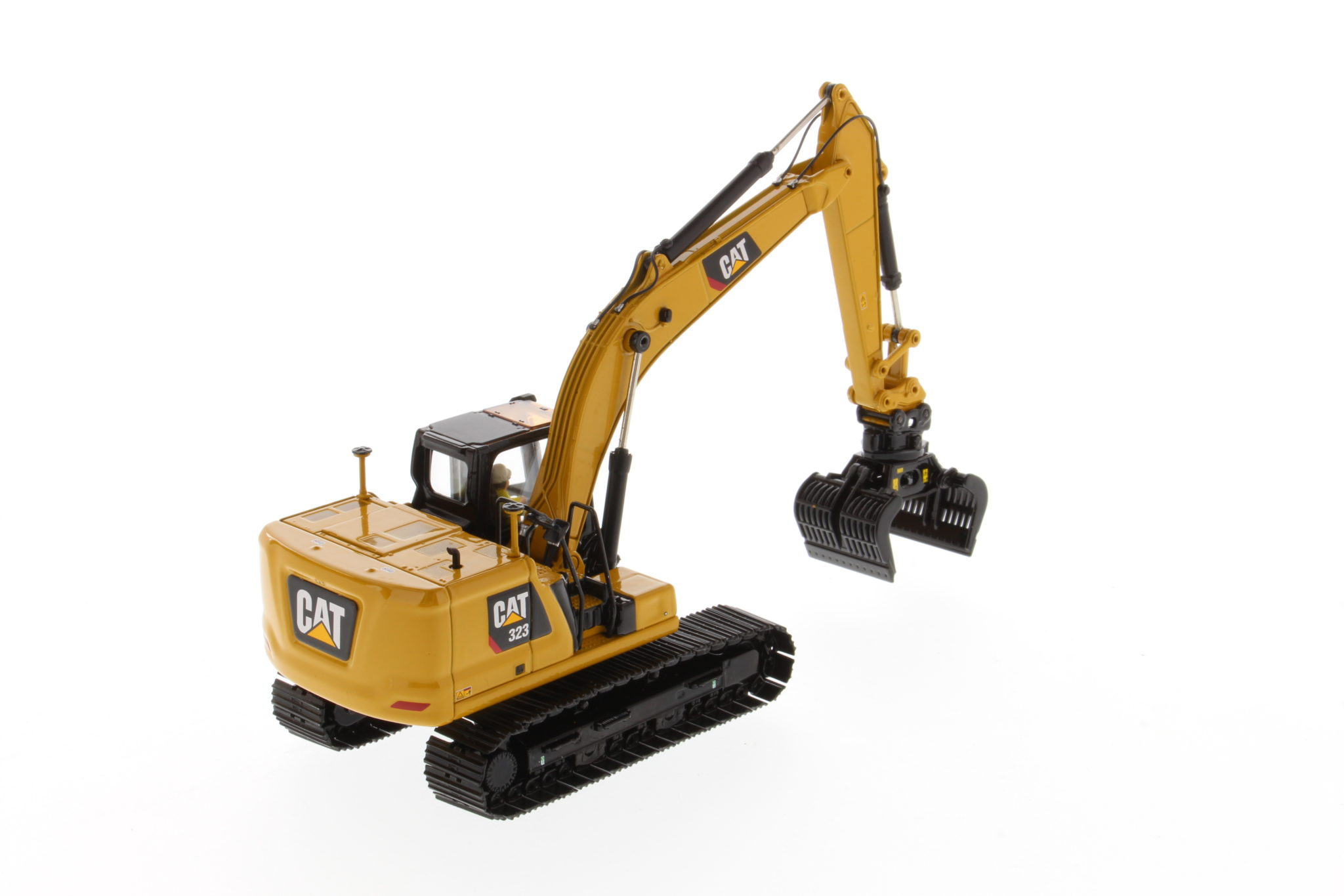 Diecast Masters CAT 323 Hydraulic Excavator Next Generation Design with work tools - Sealed Box - Image 3 of 3