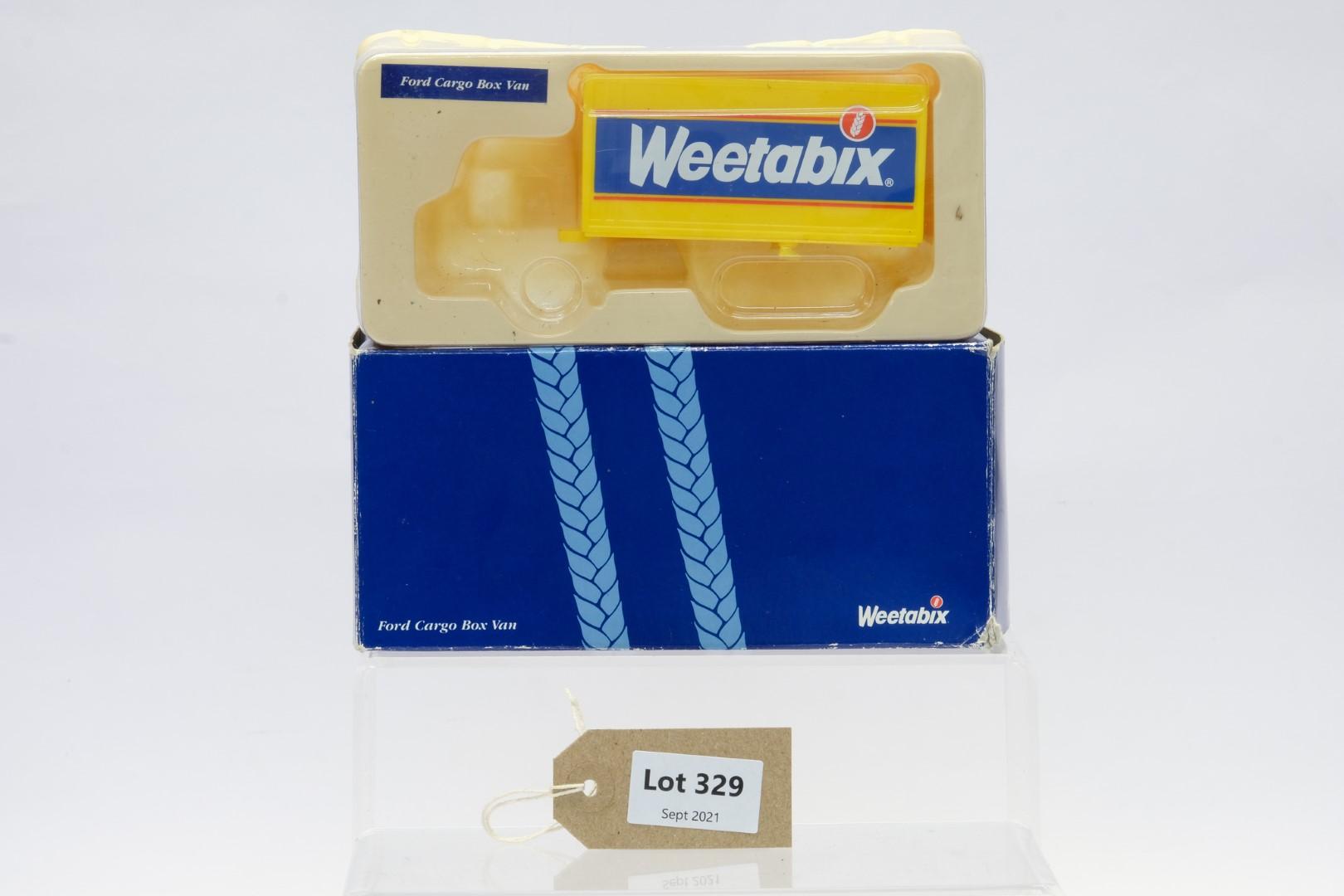 Corgi Weetabix Box Trailer Load