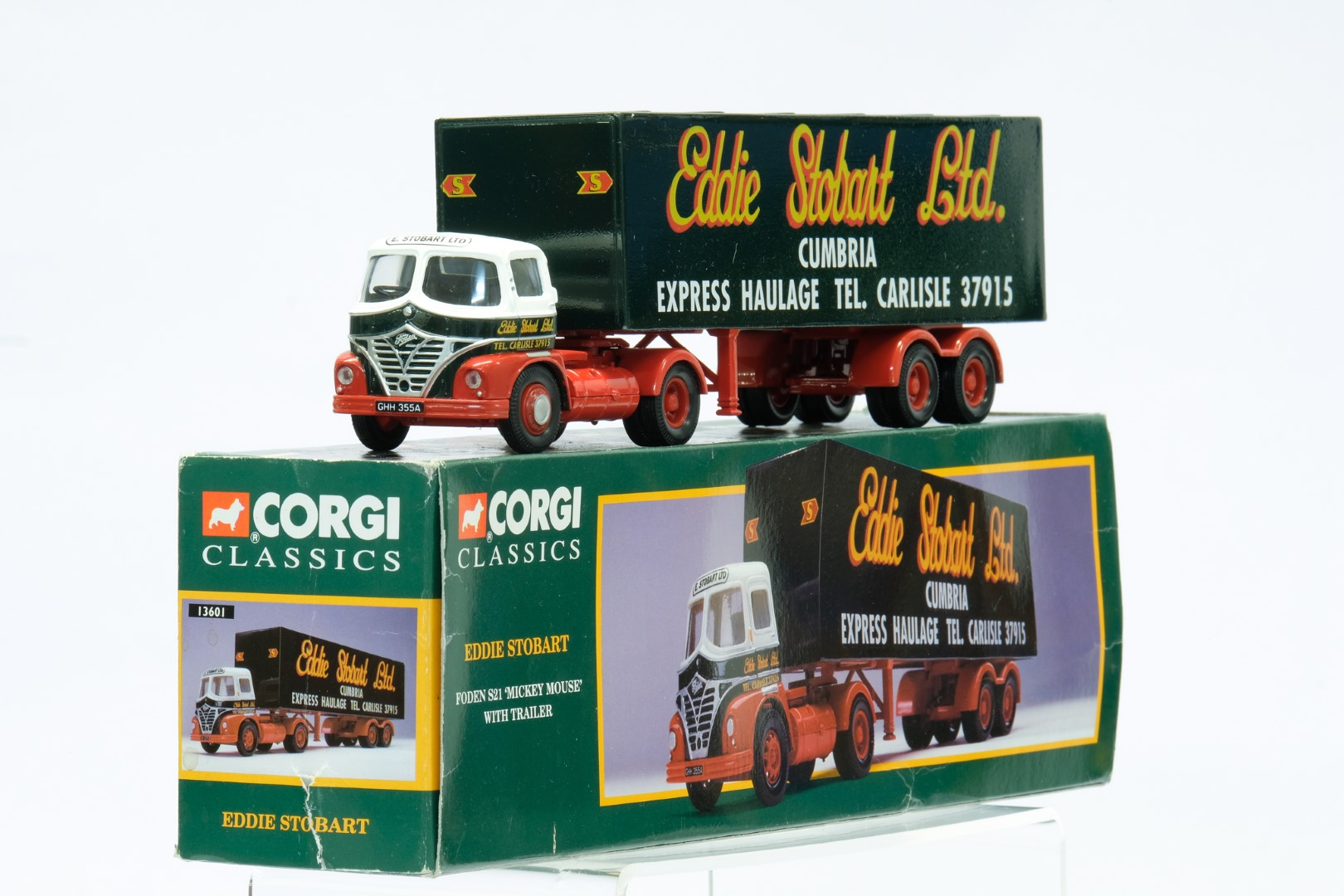 Corgi Foden S21 'Mickey Mouse' With Trailer - Eddie Stobart - Image 2 of 3