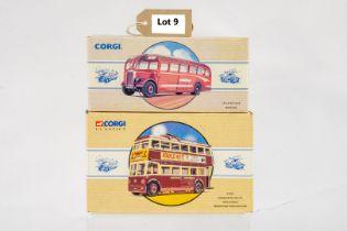 Corgi Leyland Tiger - Bartons / Sunbeam W Utility Trolleybus - Maidstone Corporation
