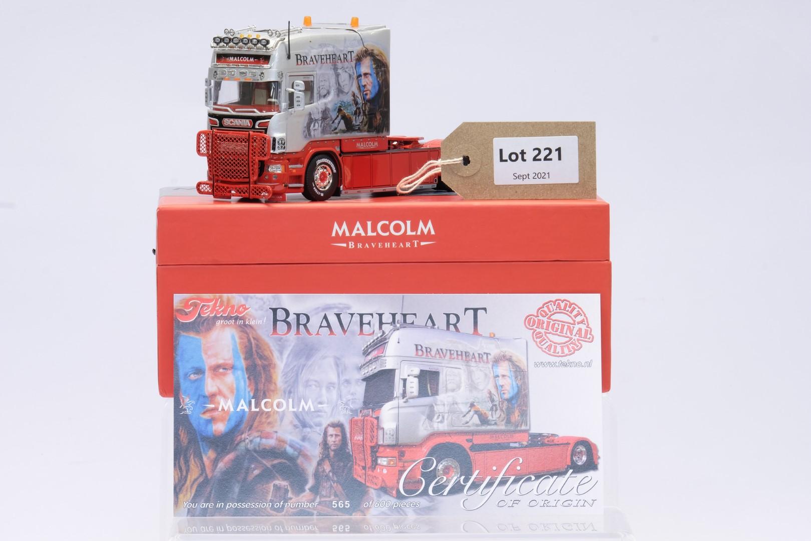 Tekno Scania R-series Longline - W.H. Malcolm Braveheart