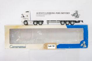Cararama Volvo FH12 Box Trailer - H.G.V. Recruitment Ltd