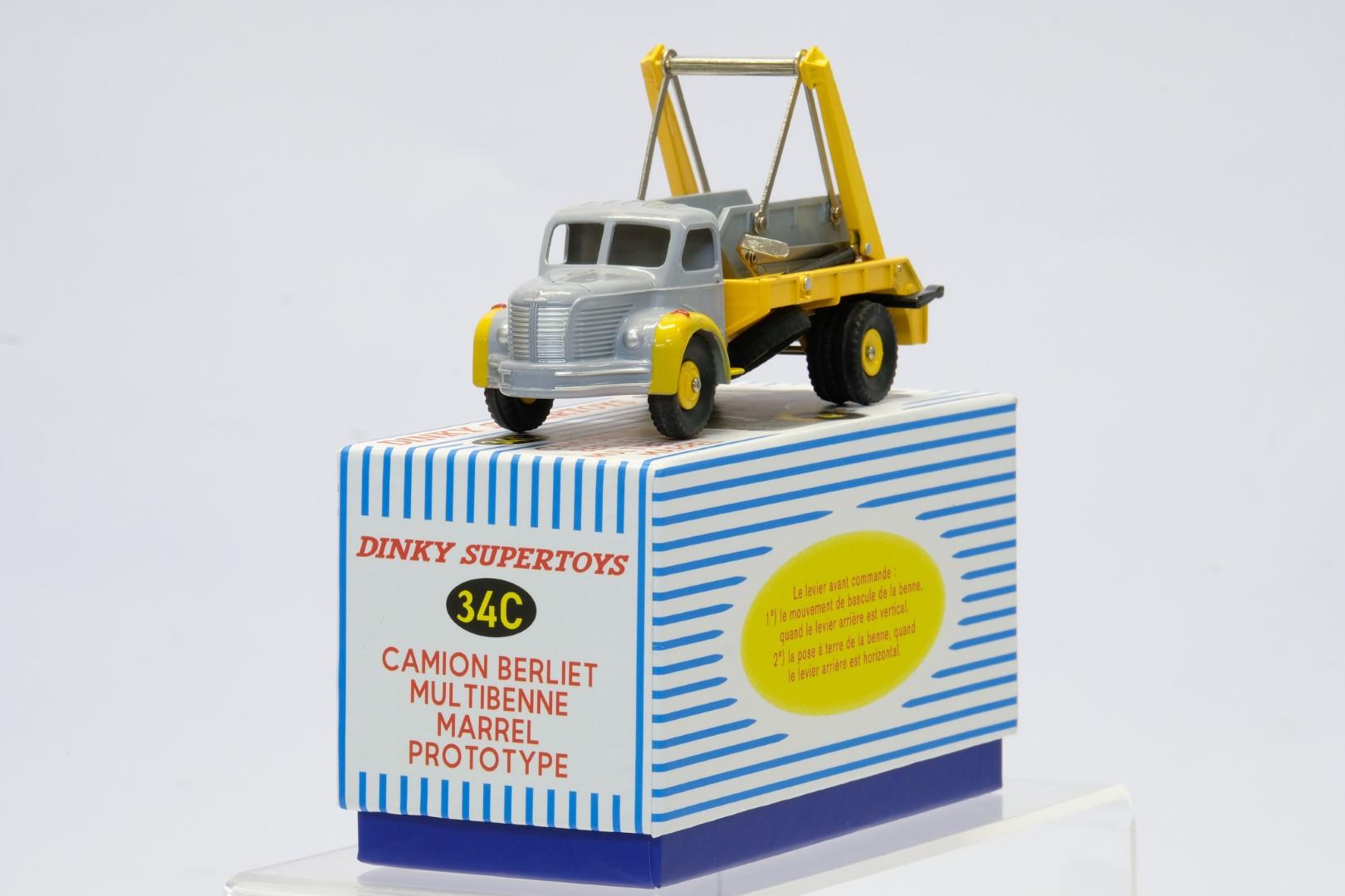 Atlas Dinky Toys Camion Berliet Multibenne Marrel - Image 2 of 3