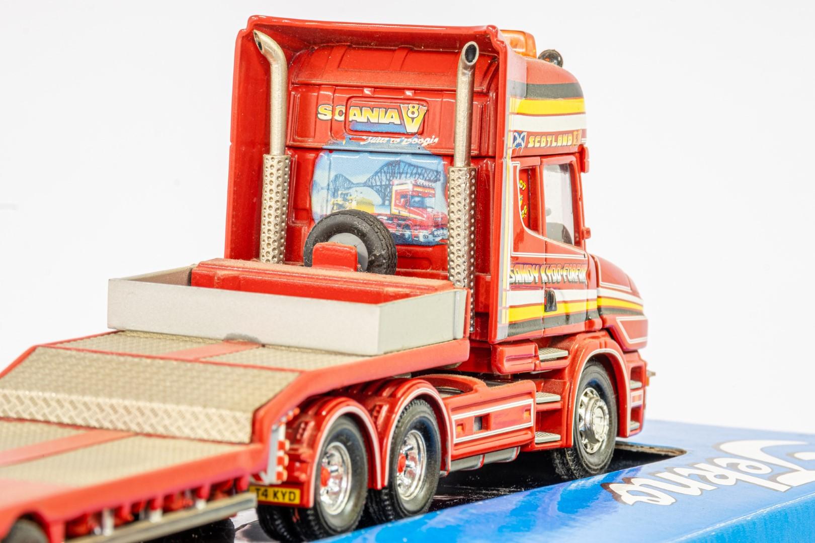 Corgi Scania 3-Series Low Loader Trailer - Sandy Kydd - In Tekno Box - Lion Toys Trailer - Image 5 of 5
