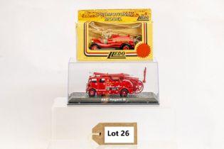 Lledo & Atlas AEC Regent III Fire Engine & Herts Fire Brigade