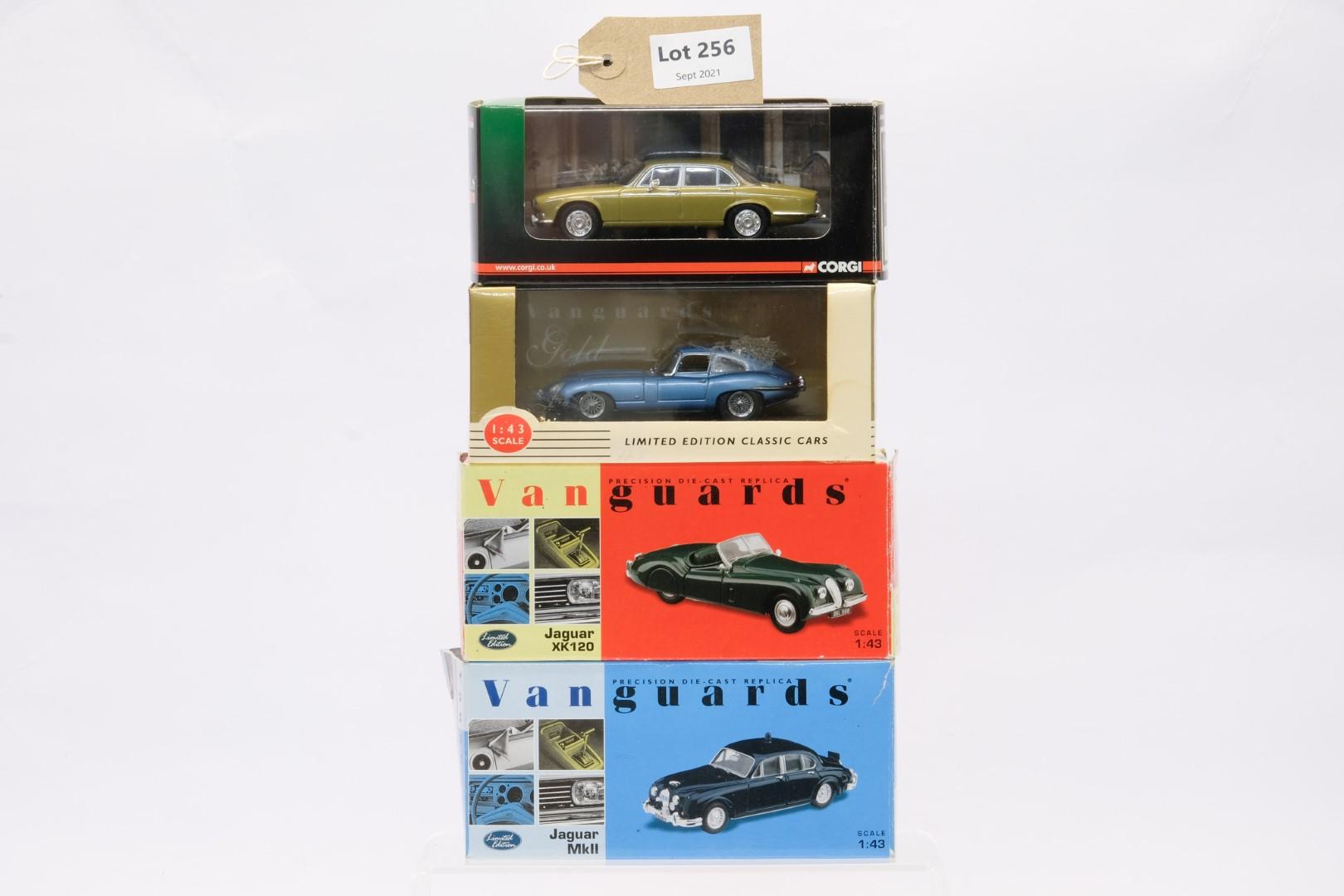 Vanguards 4 Boxed Car Models