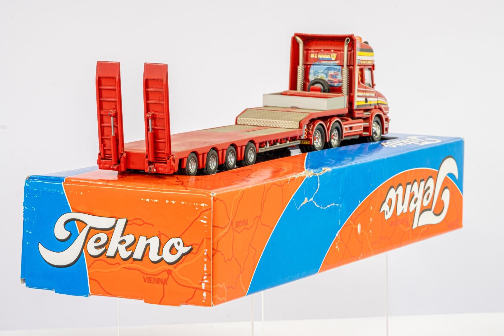 Corgi Scania 3-Series Low Loader Trailer - Sandy Kydd - In Tekno Box - Lion Toys Trailer - Image 3 of 5