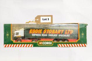 Corgi Scania Curtainsider Trailer - Eddie Stobart
