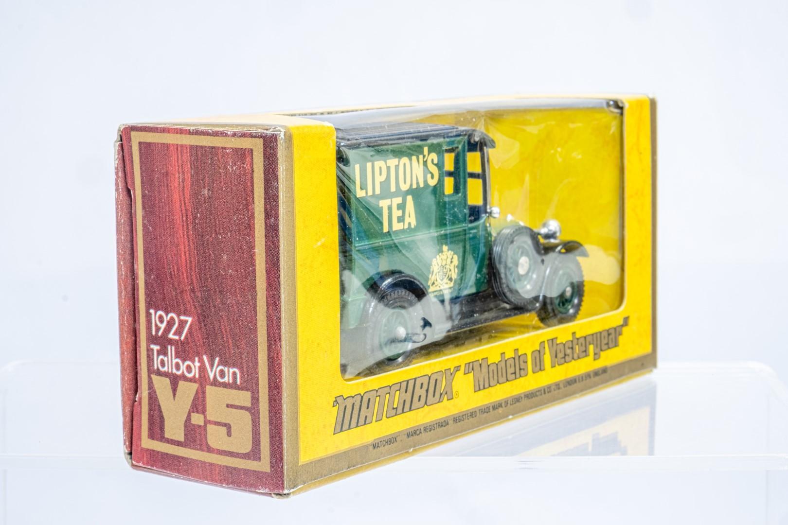 Matchbox 1927 Talbot Van Y-5 - Liptions Tea - Rare - Image 3 of 9