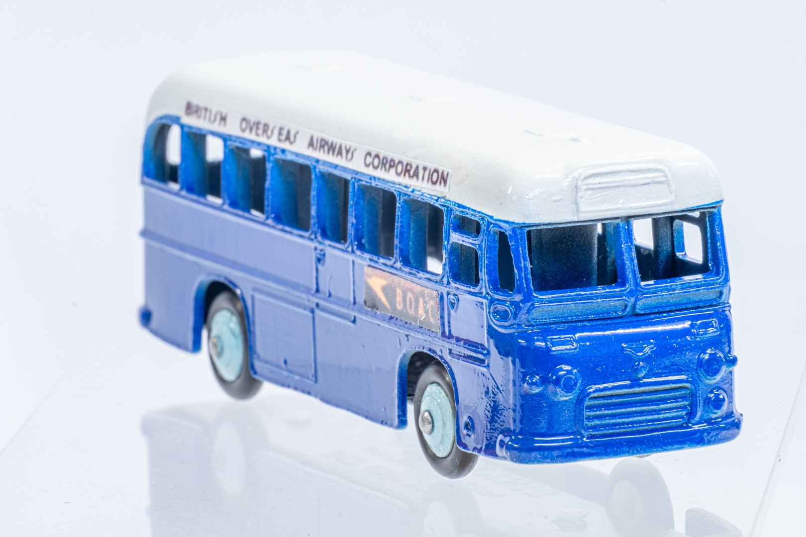 Dinky Single Decker Bus - B.O.A.C. - Code 3 & Reproduction Box - Image 7 of 7
