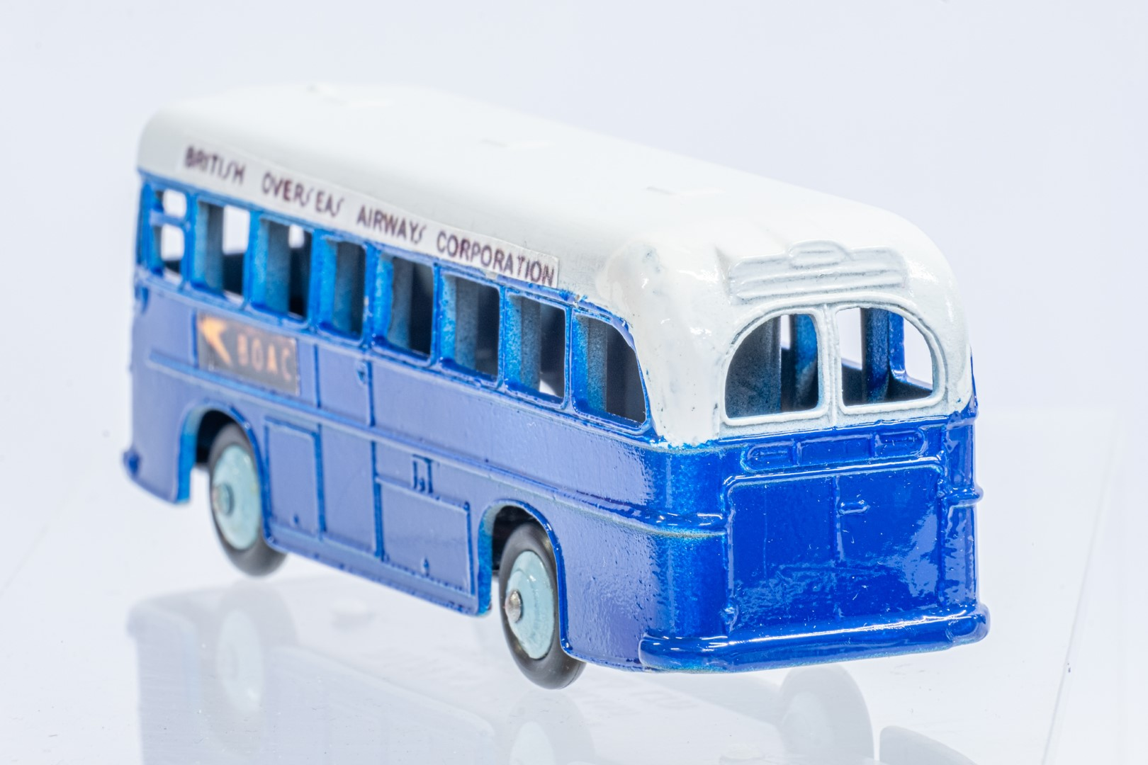 Dinky Single Decker Bus - B.O.A.C. - Code 3 & Reproduction Box - Image 5 of 7