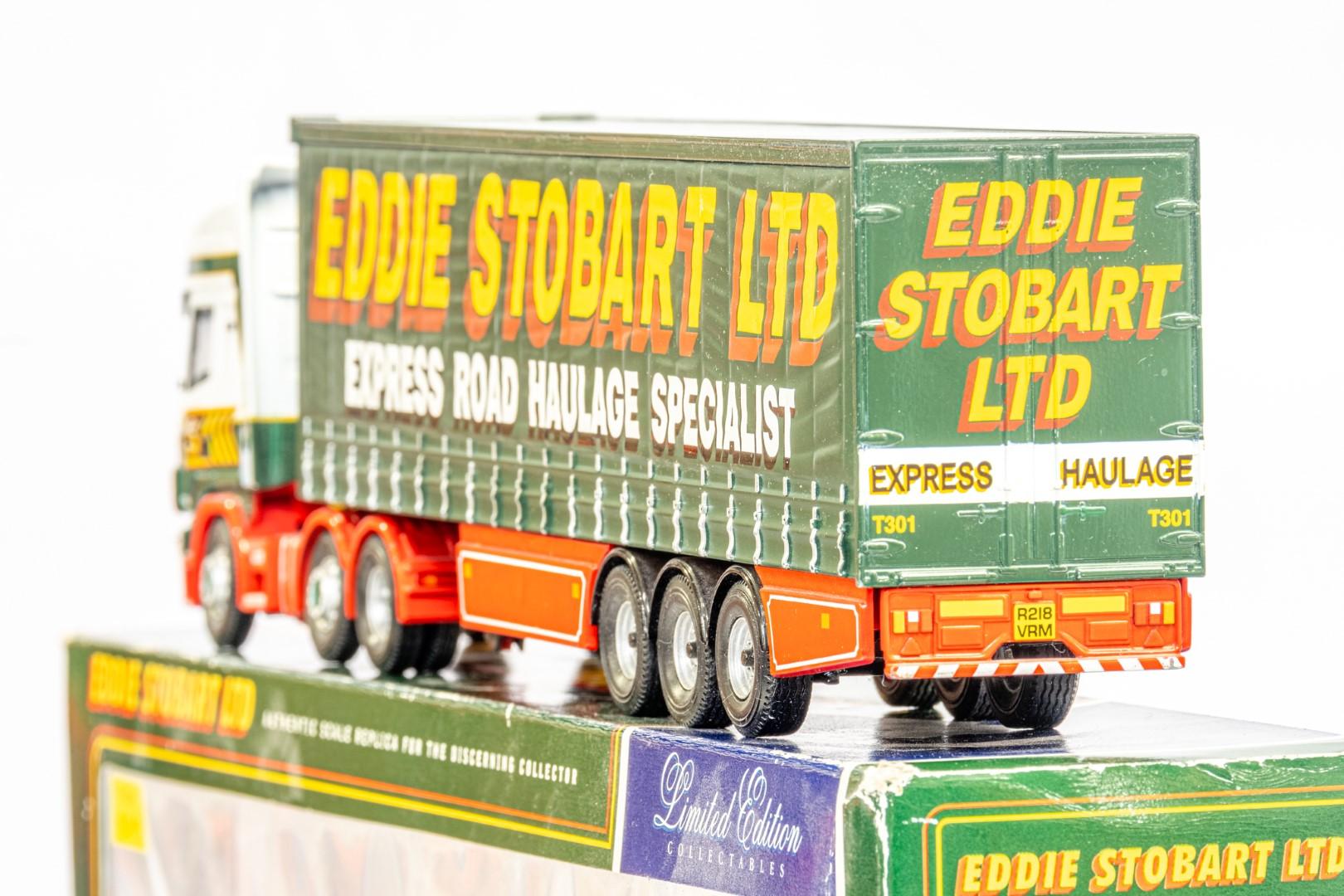 Corgi Scania Topline Curtainside Trailer - Eddie Stobart - Image 5 of 7