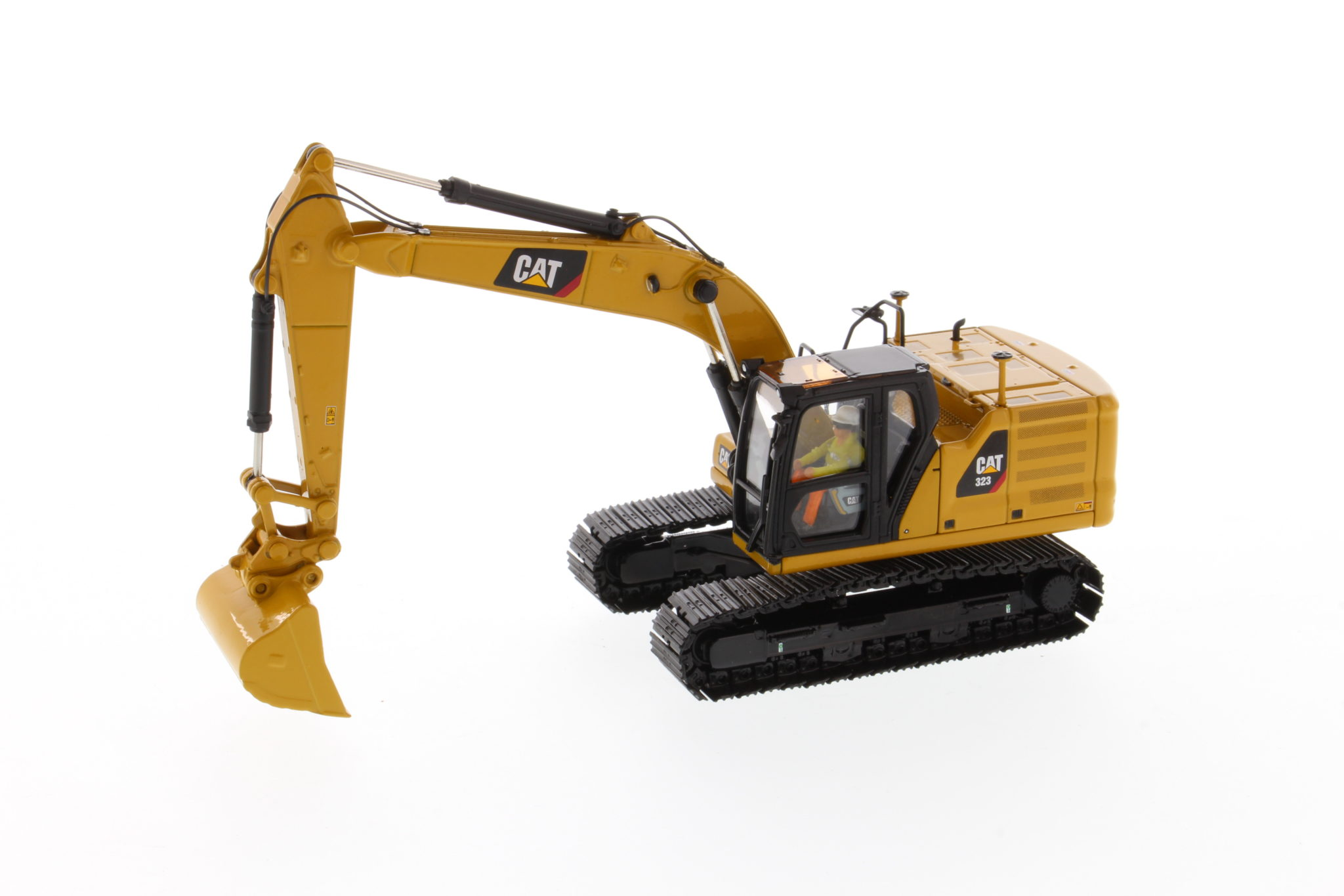 Diecast Masters CAT 323 Hydraulic Excavator Next Generation Design with work tools - Sealed Box - Image 2 of 3