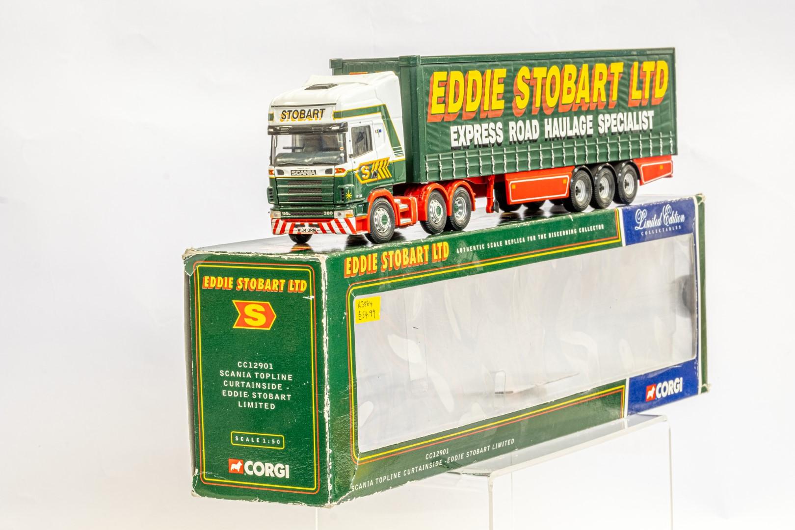 Corgi Scania Topline Curtainside Trailer - Eddie Stobart - Image 2 of 7