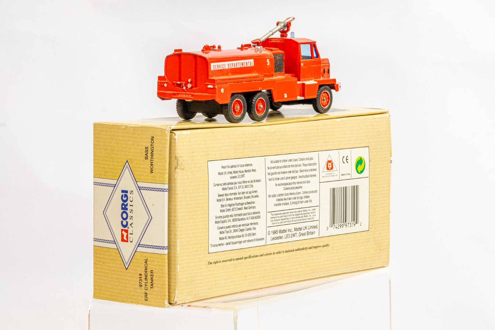 Solido Berliet GBC34 Camiva - Airport Fire - In Wrong Box - Image 3 of 7
