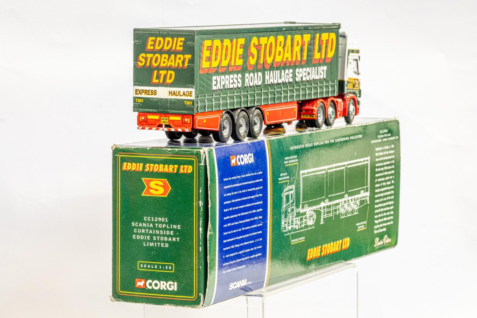 Corgi Scania Topline Curtainside Trailer - Eddie Stobart - Image 3 of 7