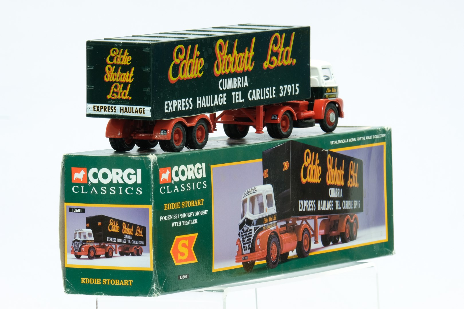 Corgi Foden S21 'Mickey Mouse' With Trailer - Eddie Stobart - Image 3 of 3