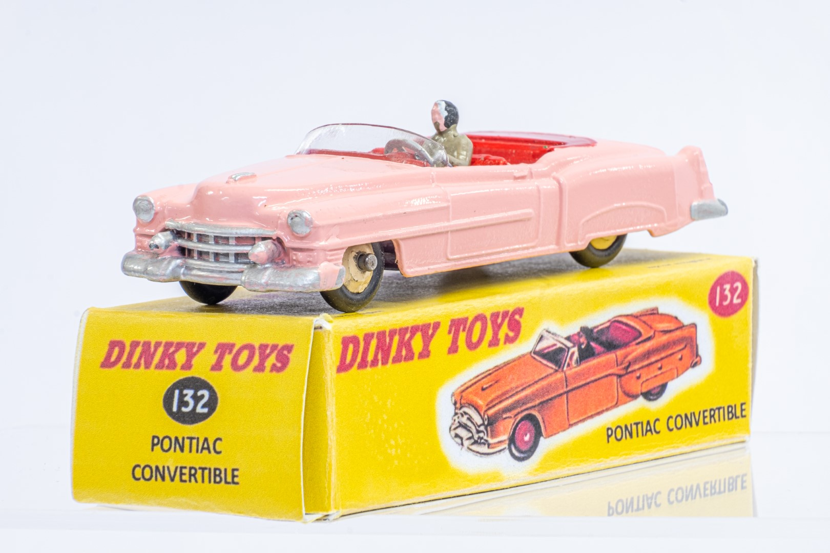 Dinky Pontiac Convertible - Code 3 & Reproduction Box - Image 2 of 7