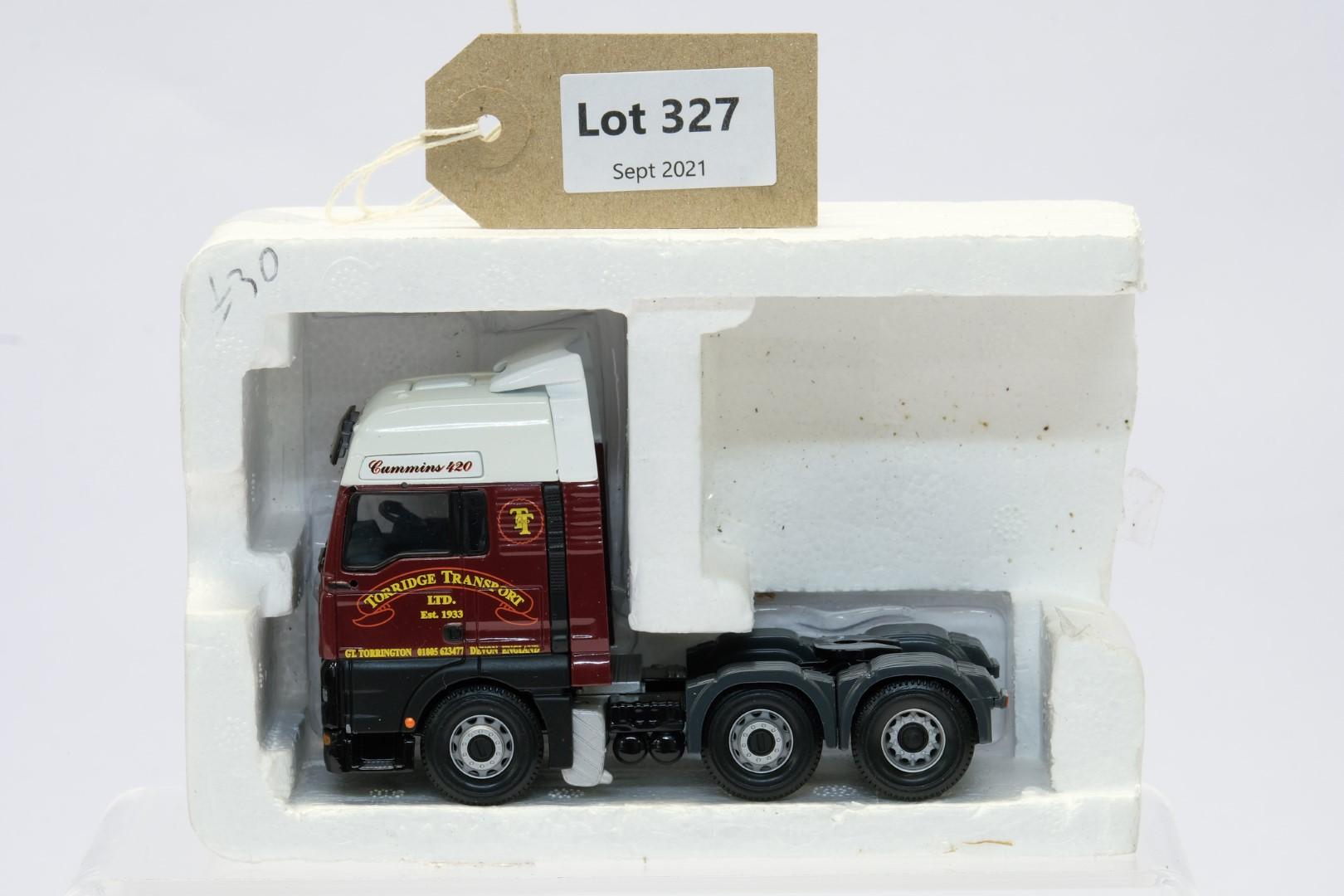 Corgi ERF ECT Curtainside - Torridge Transport Ltd - Tractor Unit Only