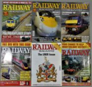 Approximately 300 copies of The Railway Magazine, (1994 - 2000's).