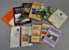 A collection of 31 railway related books, to include LMS Railway Walks and The Midland Railway.