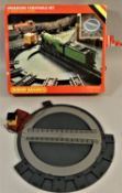 A Hornby 00 gauge operating turntable set, boxed.