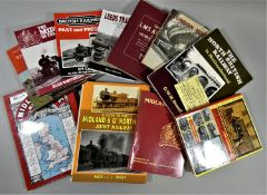 A collection of 23 railway related books, to include The LMS at War and The Midlands.