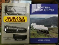 A collection of railway related book, to include Hull Port Group Railway Rate Book, LNER wagons,