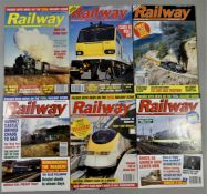 Approximately 300 railway magazines, (1970's to 2017).
